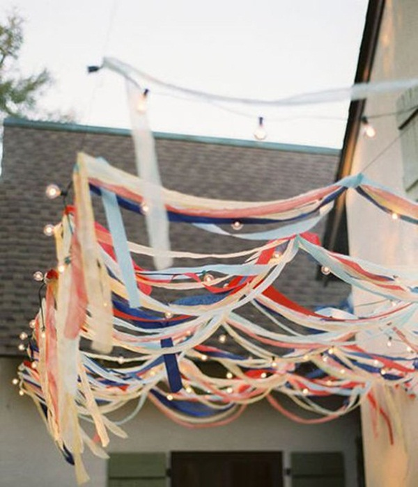 Backyard party decor and hacks 10
