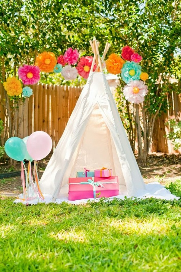 Backyard party decor and hacks 11