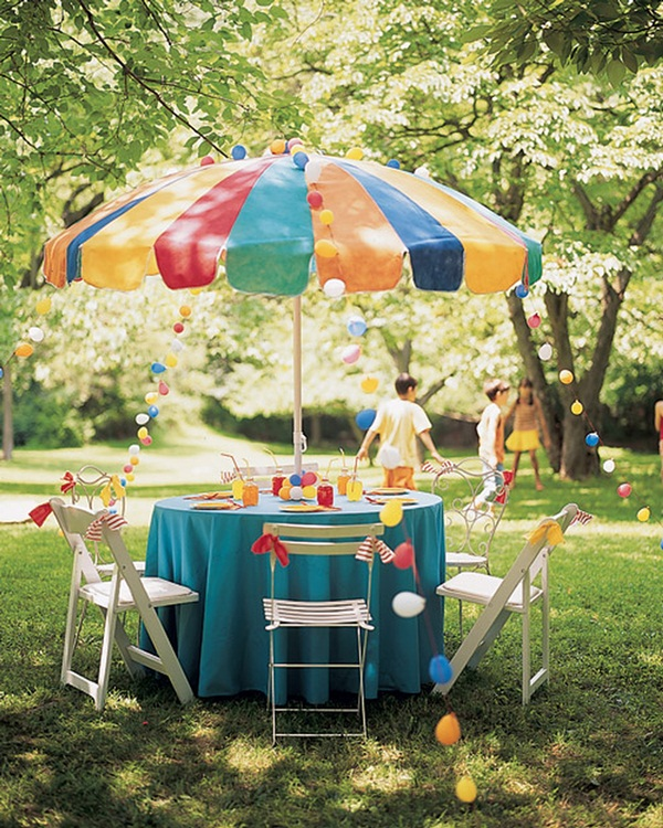 Backyard party decor and hacks 12