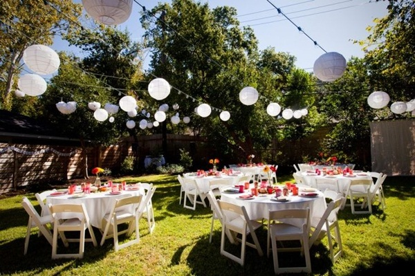 Backyard party decor and hacks 2