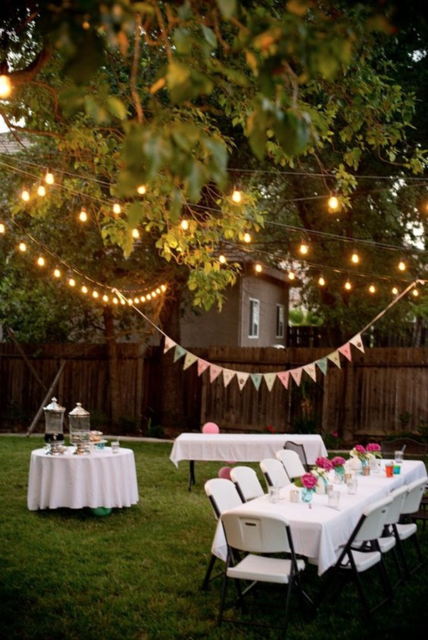 Backyard party decor and hacks 59