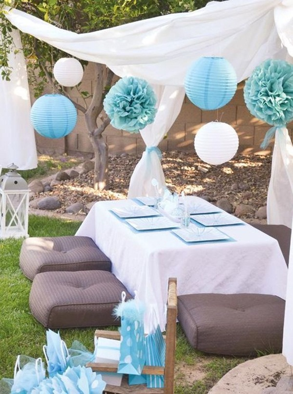 Backyard party decor and hacks 8