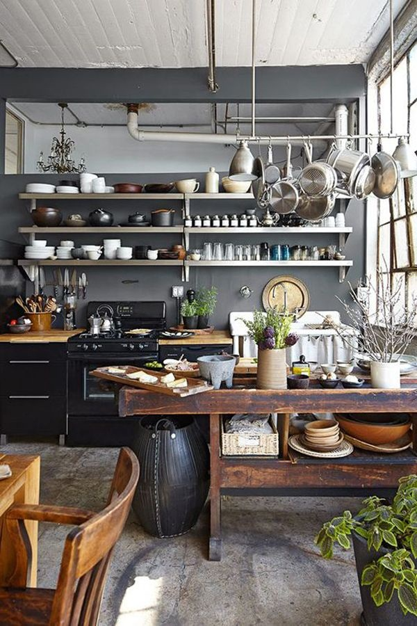 Industrial kitchen designs 41