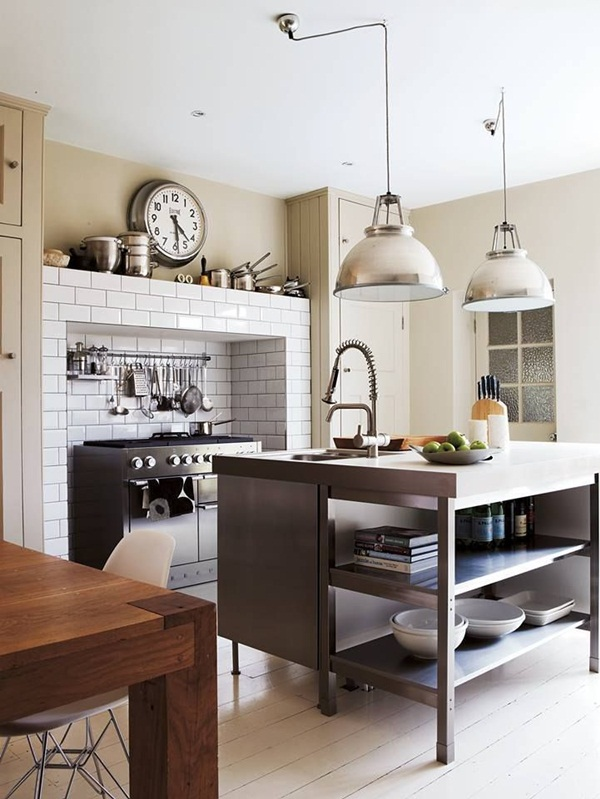 Industrial kitchen designs 45