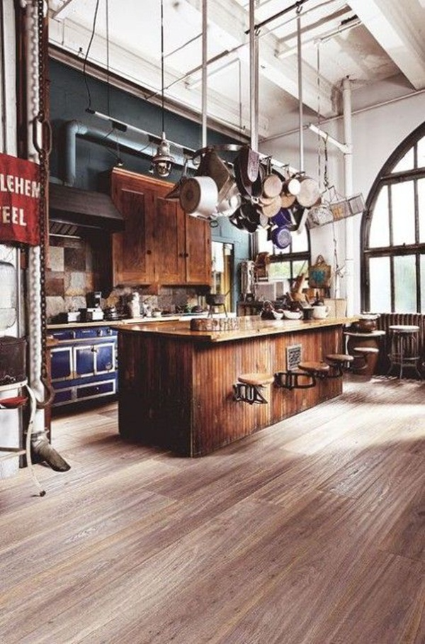Industrial kitchen designs 47