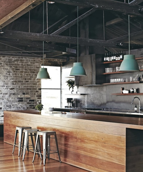 Industrial kitchen designs 5