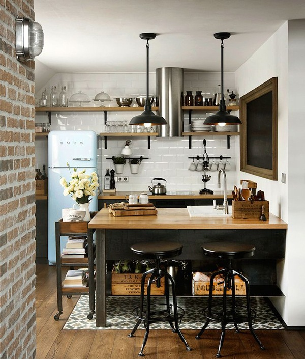 Industrial kitchen designs 53