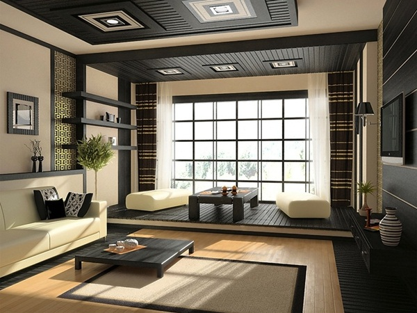 Japanese style interior designs34