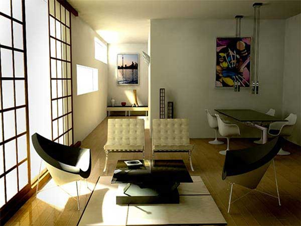 Japanese style interior designs38