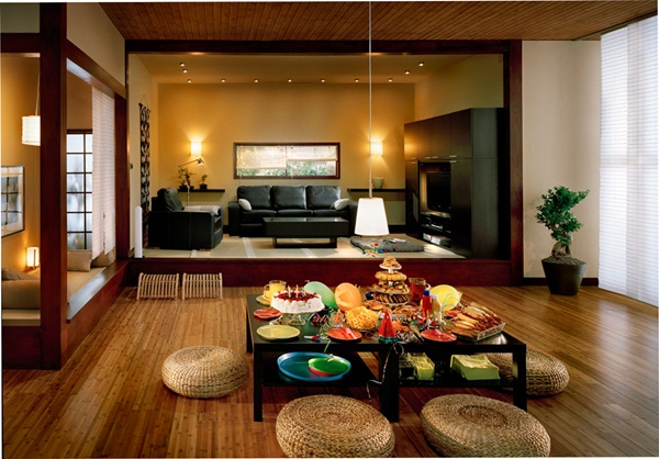Japanese style interior designs74