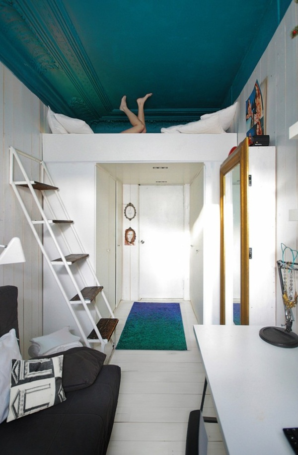 Loft bed design for small rooms10