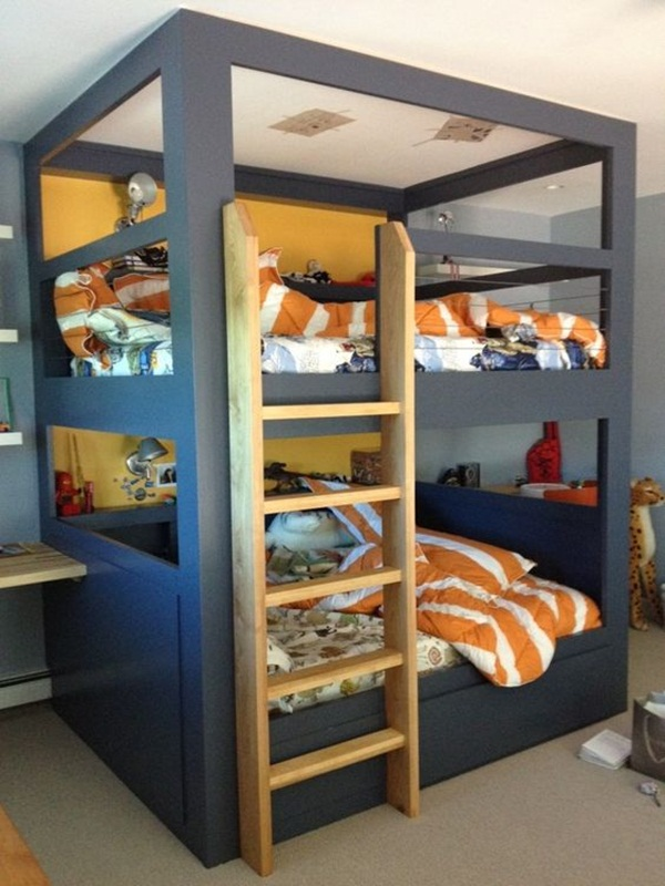 Loft bed design for small rooms11