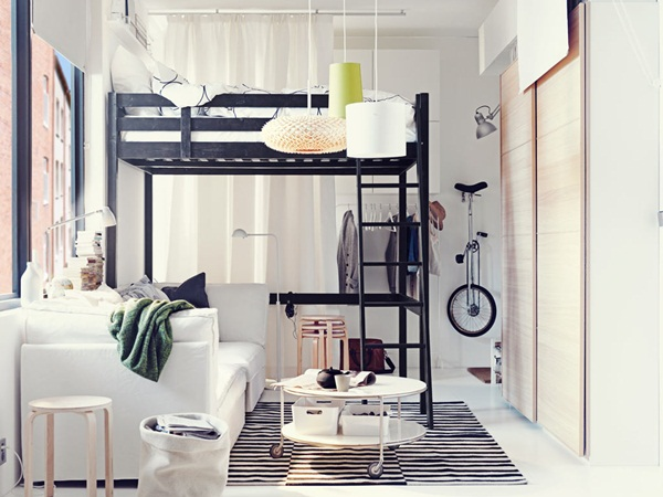 Loft bed design for small rooms18