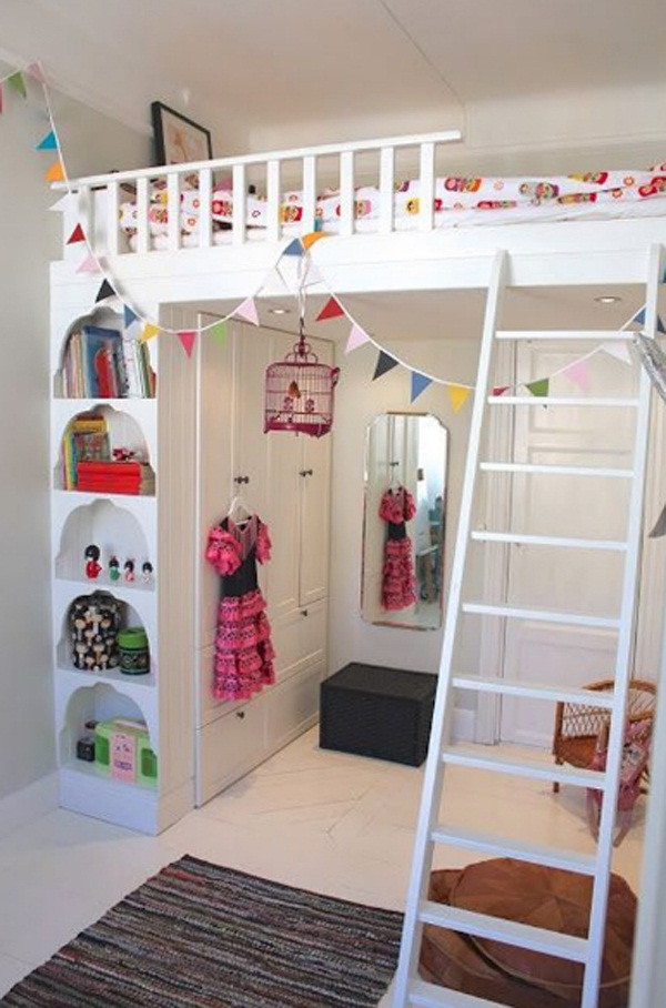 Loft bed design for small rooms22