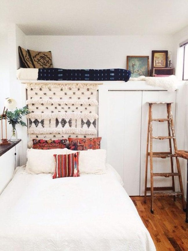 Loft bed design for small rooms24