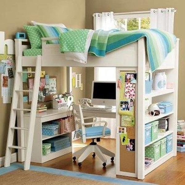 Loft bed design for small rooms30