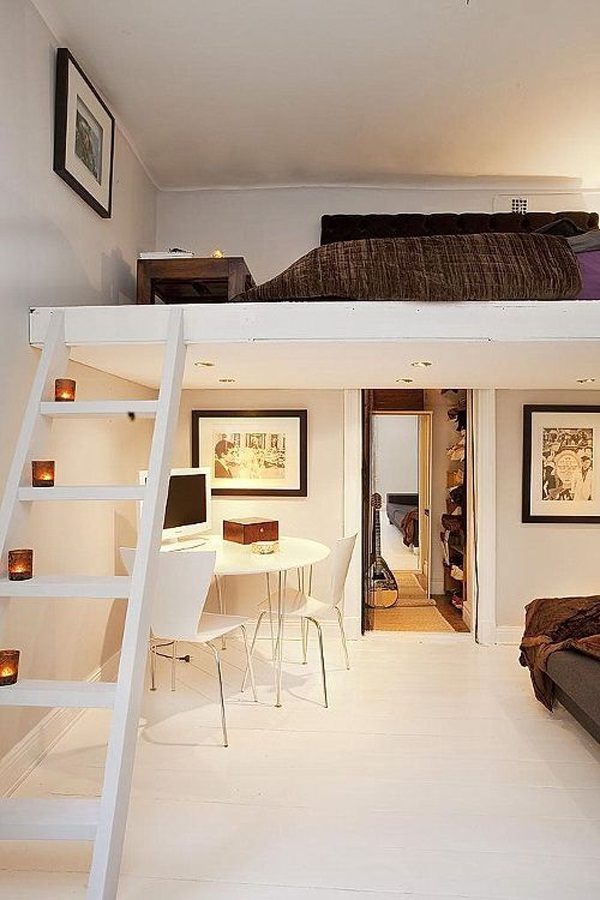 Loft bed design for small rooms31