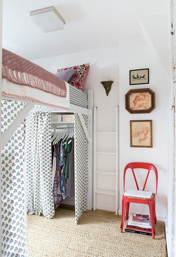 Loft bed design for small rooms32