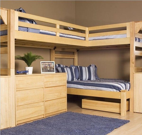 Loft bed design for small rooms36