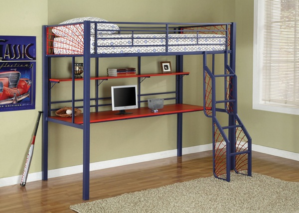 Loft bed design for small rooms37