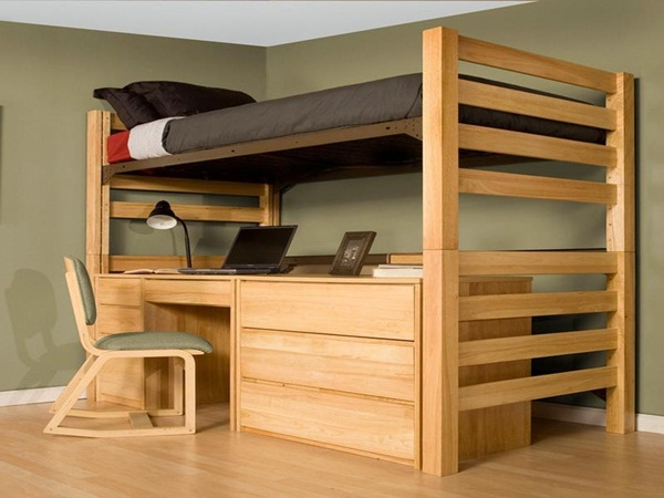 Loft bed design for small rooms39