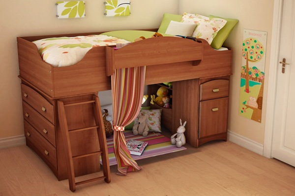 Loft bed design for small rooms4