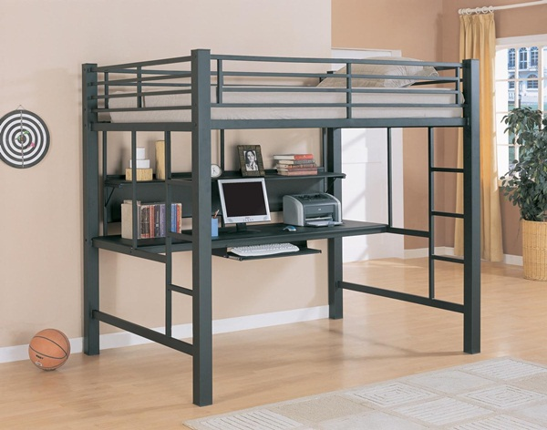 Loft bed design for small rooms40