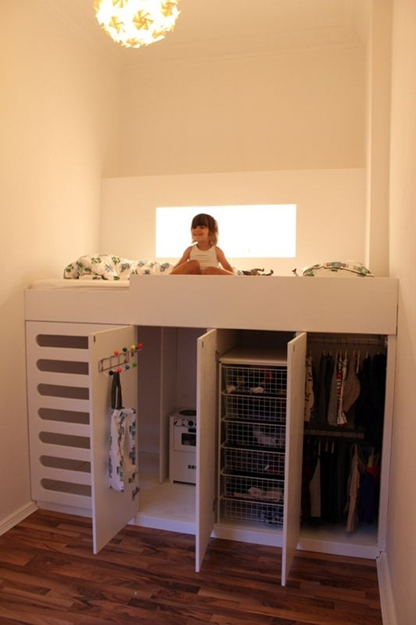 Loft bed design for small rooms44