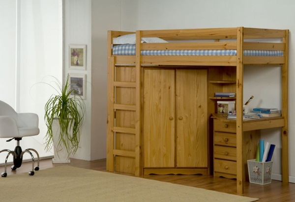 Loft bed design for small rooms46