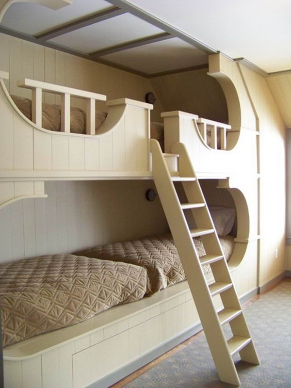Loft bed design for small rooms53