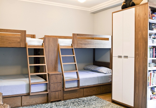 Loft bed design for small rooms54
