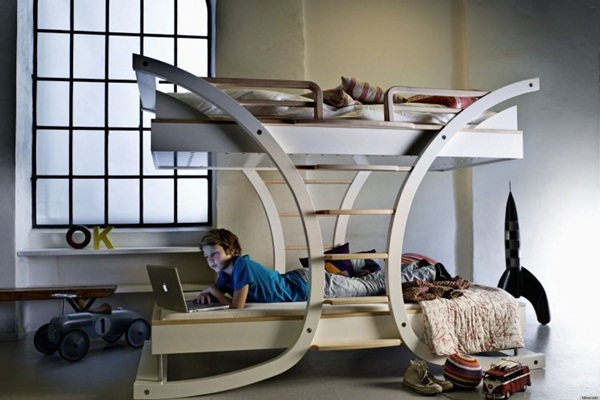 Loft bed design for small rooms66