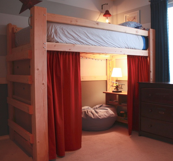 loft bed designs for small rooms