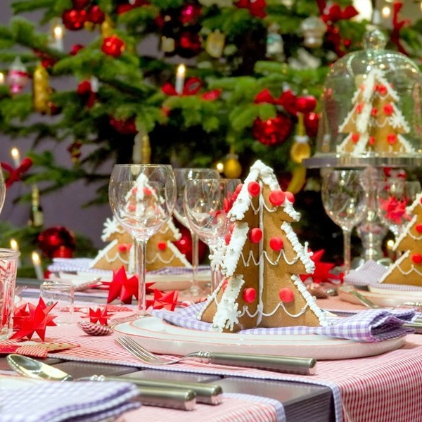 65 Adorable Christmas Table Decorations