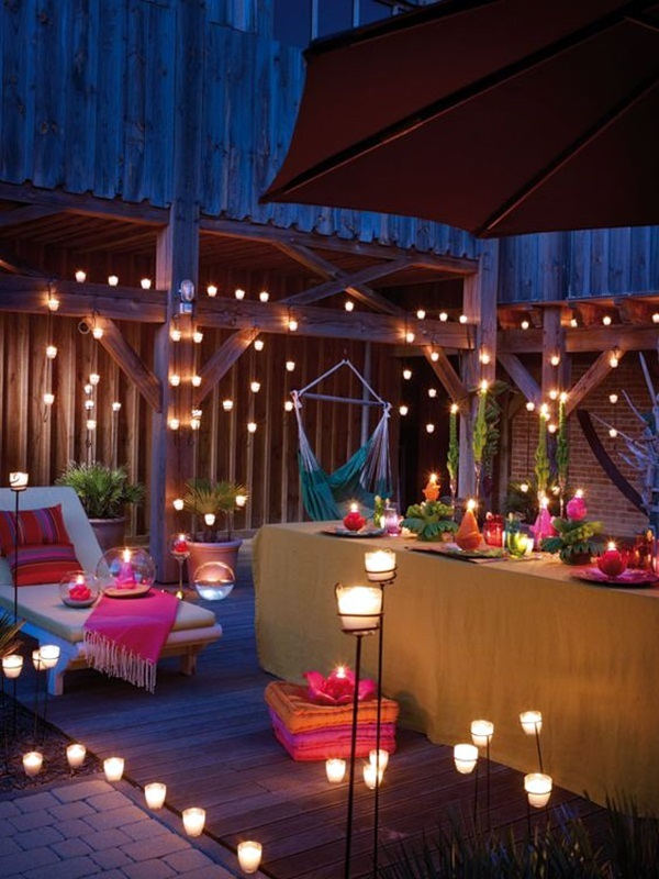 80 Beautiful Terrace Light Decoration Ideas To Have