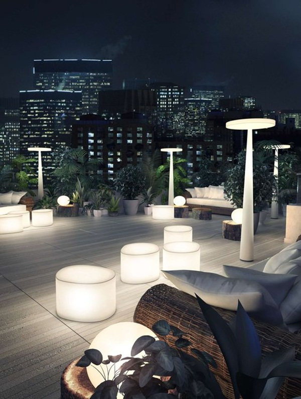 Terrace lighting ideas35