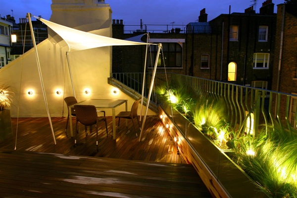 Terrace lighting ideas75