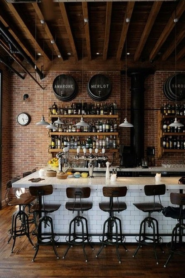 80 Creative Bar Decorating Ideas For Your Home And Apartment