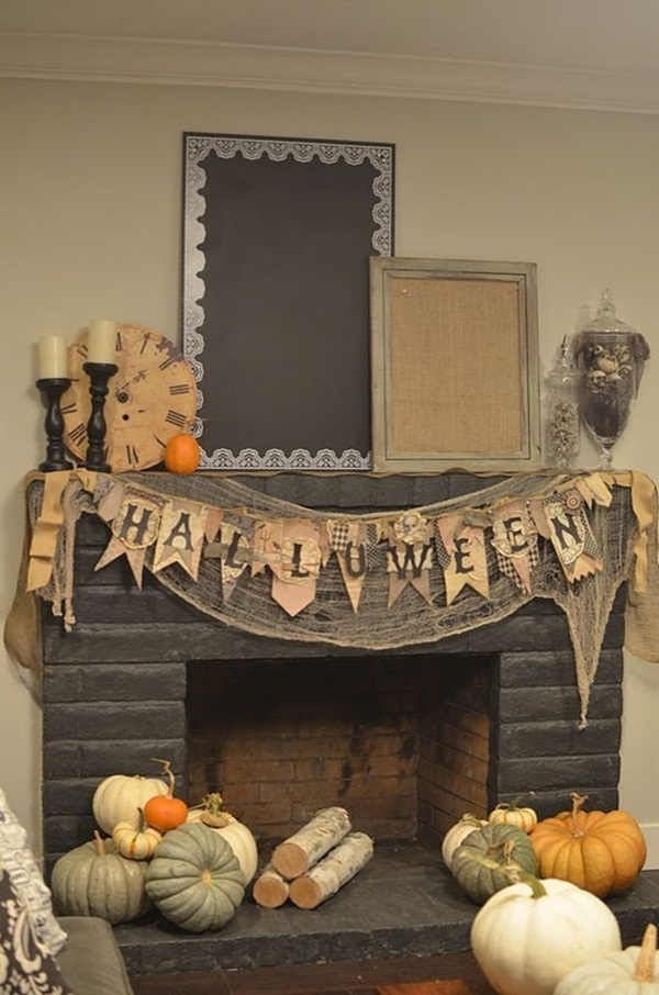halloween indoor and outdoor decoration ideas17