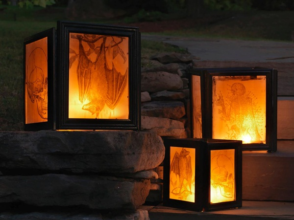 halloween indoor and outdoor decoration ideas19