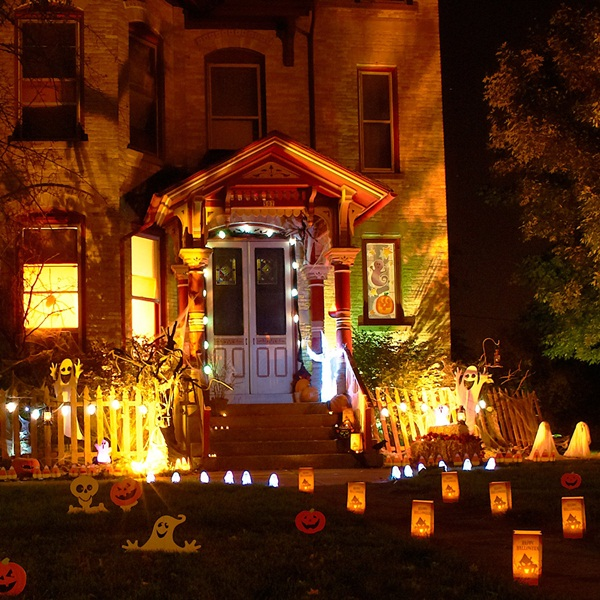 halloween indoor and outdoor decoration ideas24