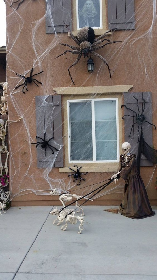 halloween indoor and outdoor decoration ideas35