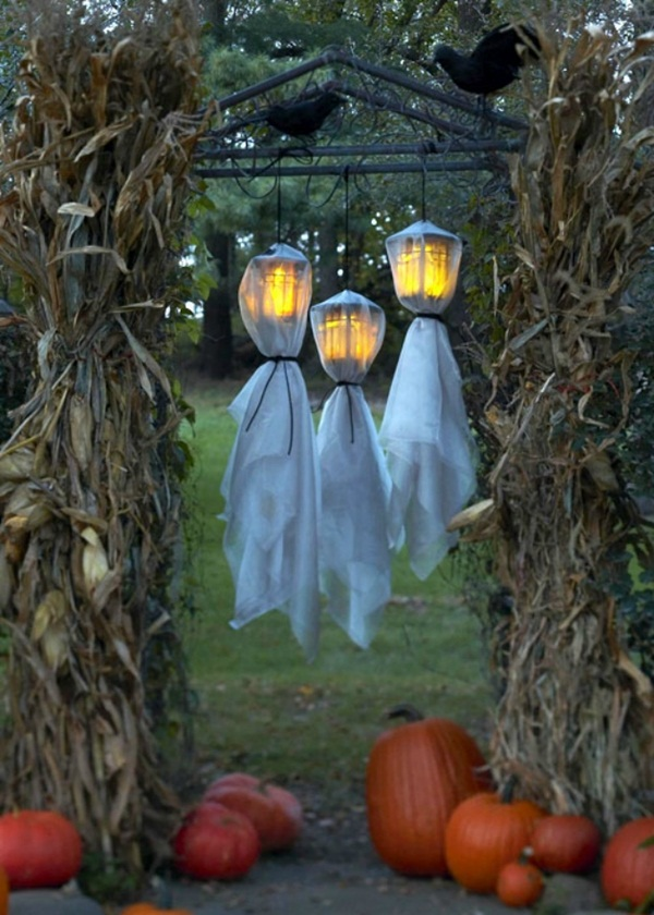 halloween indoor and outdoor decoration ideas37