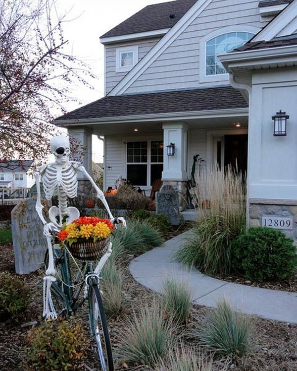 halloween indoor and outdoor decoration ideas39