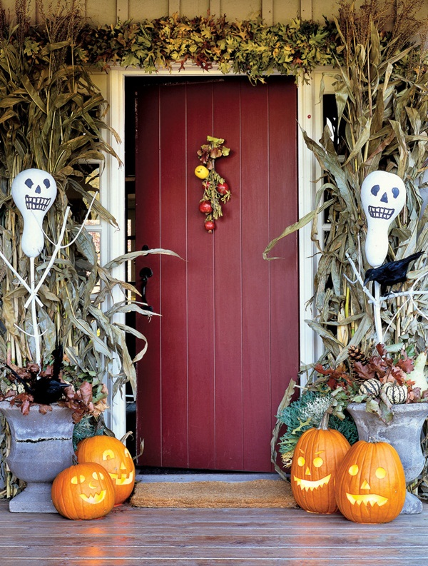 halloween indoor and outdoor decoration ideas40
