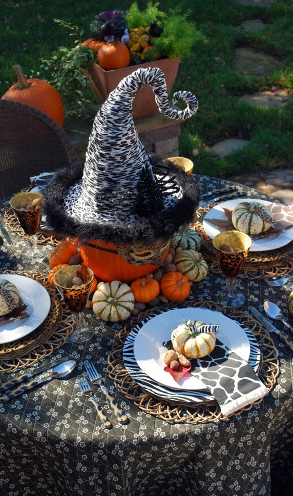halloween indoor and outdoor decoration ideas47