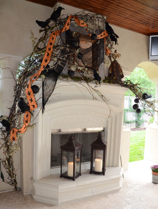 halloween indoor and outdoor decoration ideas53