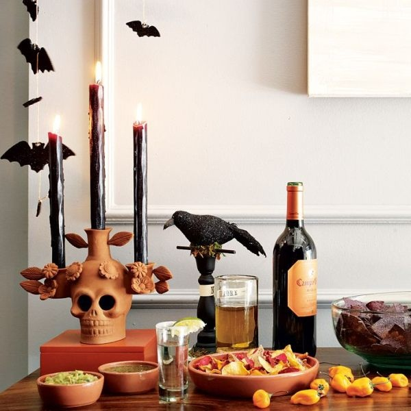 halloween indoor and outdoor decoration ideas54