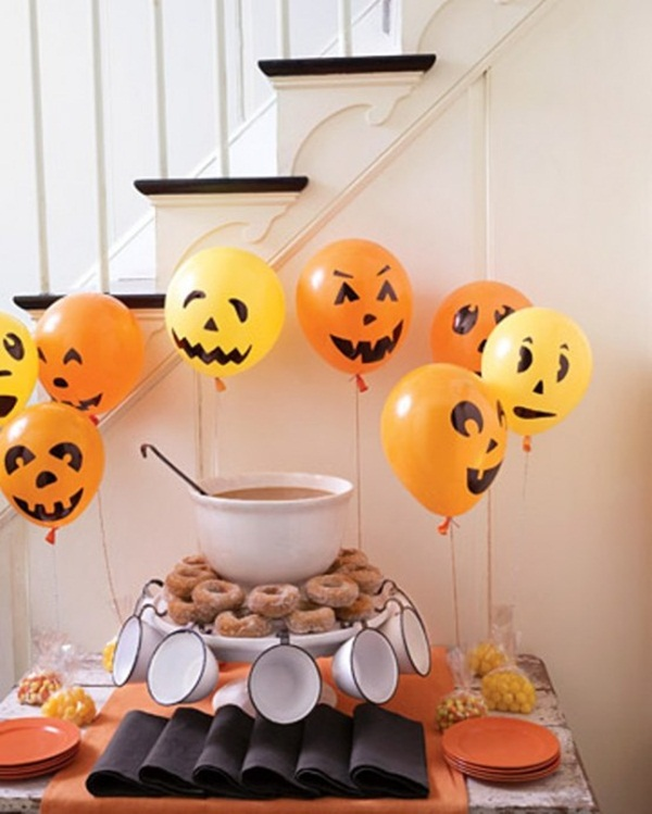 halloween indoor and outdoor decoration ideas55