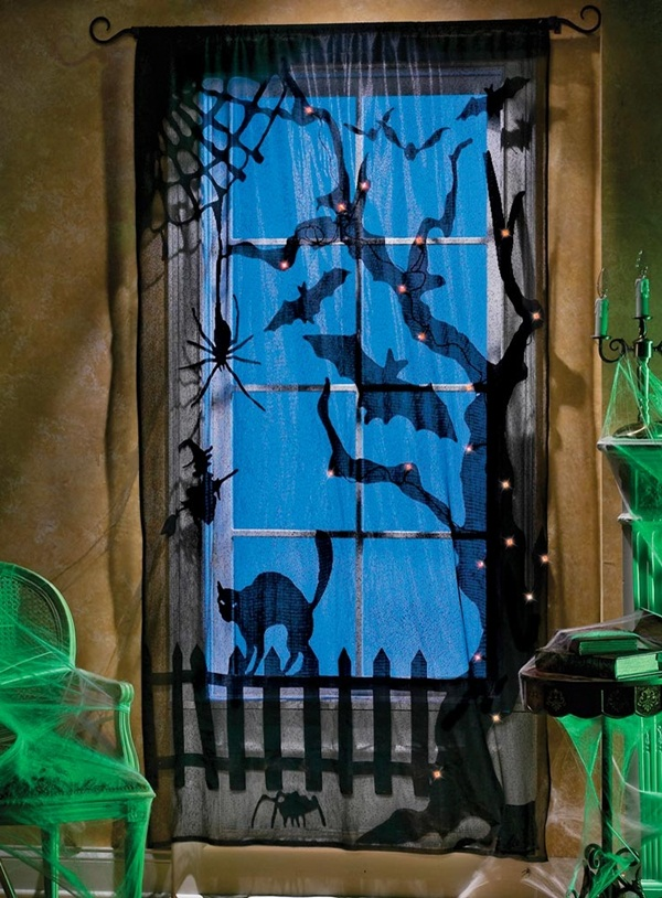 halloween indoor and outdoor decoration ideas59